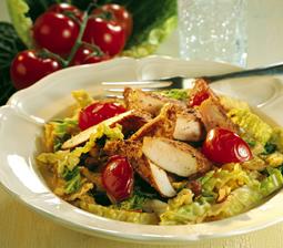 Krydret kyllingefilet på savoykål